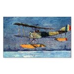 Sopwith Pup Sticker (Rectangle 10 pk)