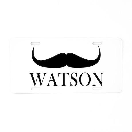 Watson Aluminum License Plate