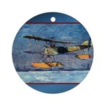 Sopwith Pup Ornament (Round)
