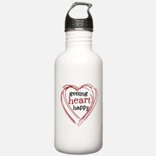Getting Heart Happy Water Bottle