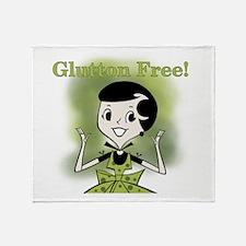Glutton Free Humor Throw Blanket