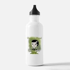 Glutton Free Humor Water Bottle