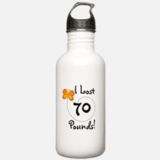 I Lost 70 Pounds Water Bottle