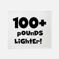 100 Plus Pounds Throw Blanket