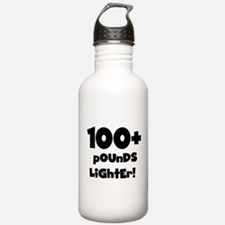 100 Plus Pounds Water Bottle