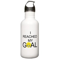 Reached My Goal Water Bottle