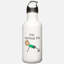 I'm Getting Fit Water Bottle