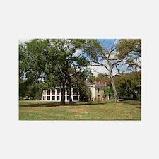 Plantation House Rectangle Magnet