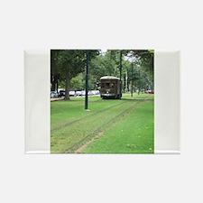 Streetcar Rectangle Magnet