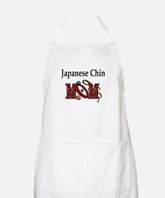 Japanese Chin Mom BBQ Apron