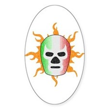 Mexican Lucha Libre Mask Decal