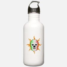 Mexican Lucha Libre Mask Water Bottle