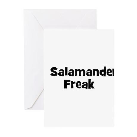 Salamander Freak Greeting Cards (Pk of 10)