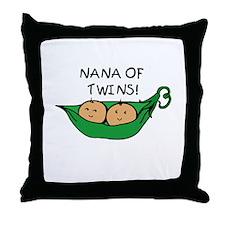 Nana of Pod Twins Throw Pillow