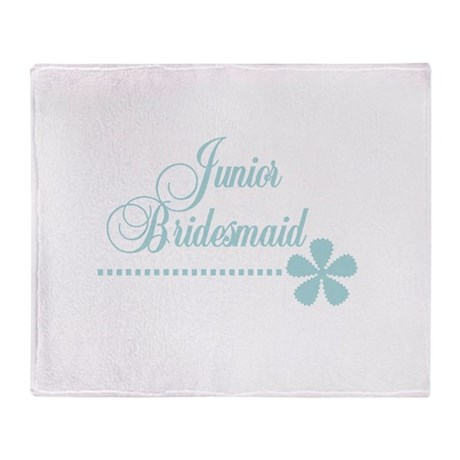 Junior Bridesmaid Throw Blanket