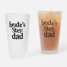 Bride's Step Dad Pint Glass