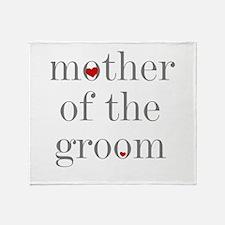 Cute Mother groom Throw Blanket