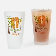 Honeymoon Jamaica Pint Glass