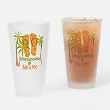 Honeymoon Mexico Drinking Glass