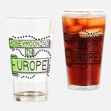 Green Honeymoon Europe Pint Glass