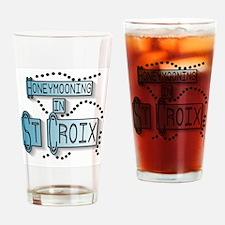 Blue Honeymoon St. Croix Pint Glass