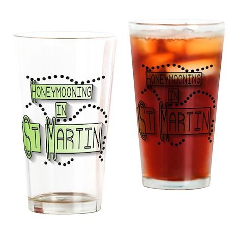 Honeymoon St. Martin Pint Glass