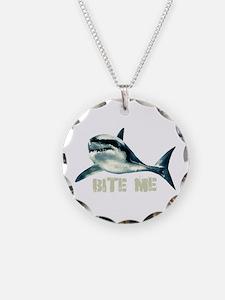 Bite Me Shark Necklace