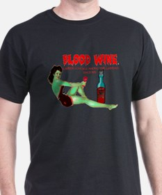 zombie /blood wine T-Shirt