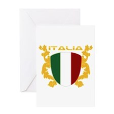 Italia Shield Greeting Card