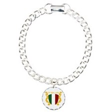 Italia Shield Charm Bracelet, One Charm