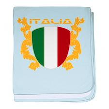 Italia Shield baby blanket