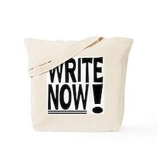 WRITE NOW! Tote Bag