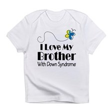 Down Syndrome Brother Infant T-Shirt