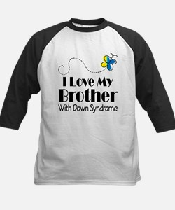 Down Syndrome Brother Kids Baseball Jersey