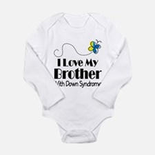 Down Syndrome Brother Long Sleeve Infant Bodysuit