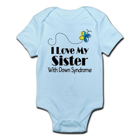 Down Syndrome Sister Infant Bodysuit