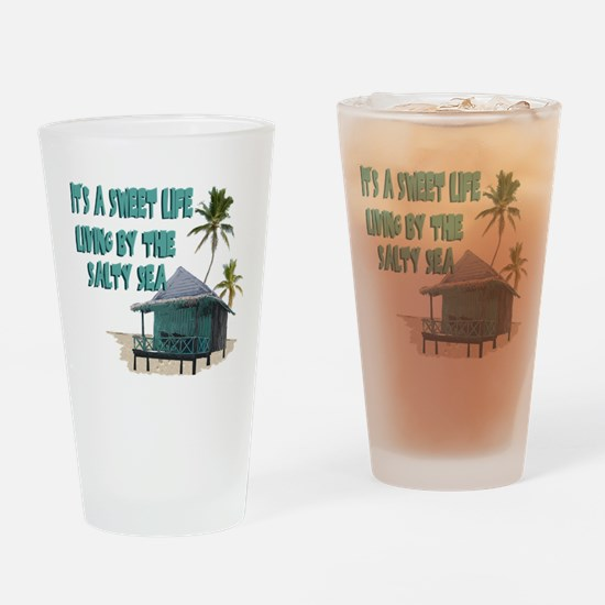 Sweet Life By The Sea Pint Glass