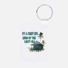 Sweet Life By The Sea Keychains
