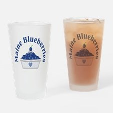 Maine Blueberries Pint Glass