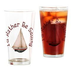 I'd Rather Be Sailing Pint Glass