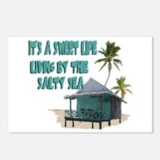 Sweet Life By The Sea Postcards (Package of 8)