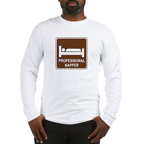 Professional Napper Long Sleeve T-Shirt