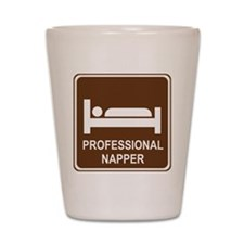 Professional Napper Shot Glass