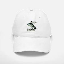 Gone Fishin' Baseball Baseball Cap