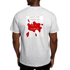 Beloved pet or fur coat? Ash Grey T-Shirt