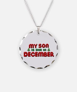 My Son is Due in December Necklace