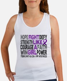 Licensed Fight Like A Girl 23.3 F Women's Tank Top