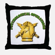 SOF - Psychological Operations Throw Pillow