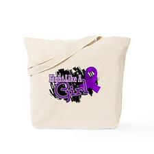 Fight Like A Girl Fibromyalgia Tote Bag