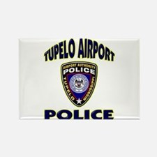 Tupelo Airport Police Rectangle Magnet